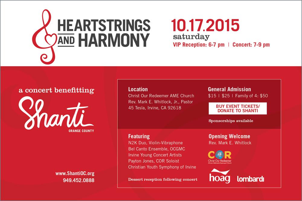 Heartstrings & Harmony 2015 - Shanti OC