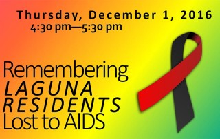 World AIDS Day in Laguna Beach
