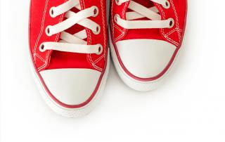 aids walk shoes